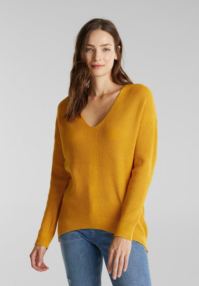 Jumper - brass yellow