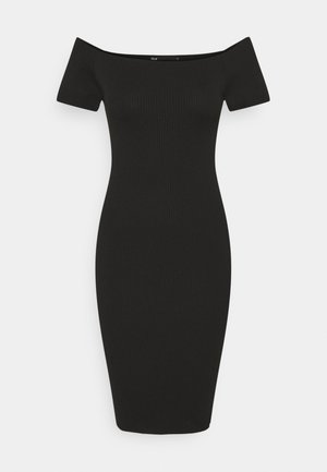 ONLLILLI DRESS - Jersey dress - black