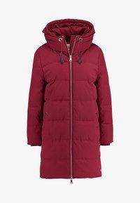 Esprit - PADDED COAT - Winter coat - dark red - 4