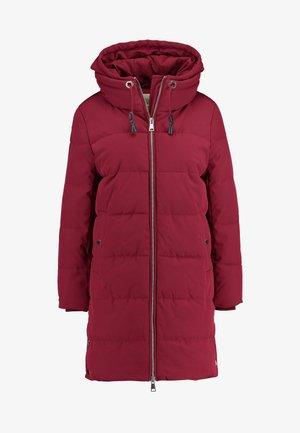 PADDED COAT - Winter coat - dark red