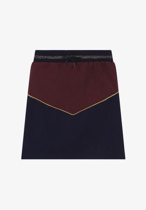 ROSA - Áčková sukně - navy blazer