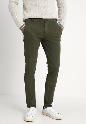 SLHSKINNY LUCA PANTS  - Pantalones chinos - deep depths