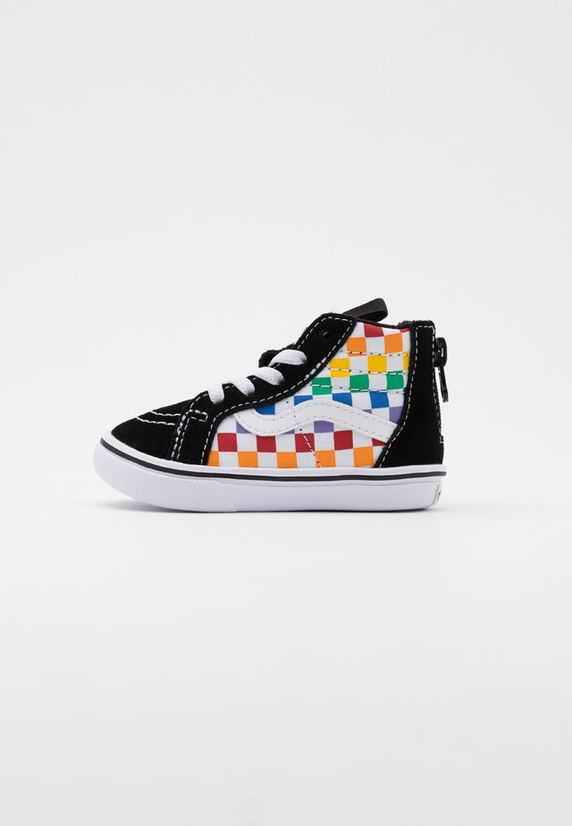COMFYCUSH SK8 ZIP - High-top trainers - rainbow/true white