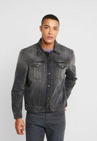 Nudie Jeans - JERRY - Denim jacket - black midnight - 0