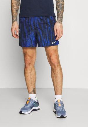 SHORT - Sports shorts - obsidian/silver