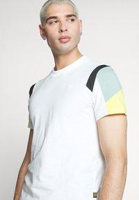 G-Star - MOTAC FABRIC MIX R T S\S - Print T-shirt - milk - 3