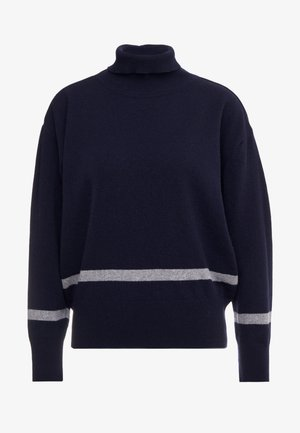 HUSKY - Jumper - dark navy/grey melange