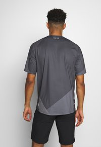 Gore Wear - C5 TRAIL TRIKOT KURZARM - T-Shirt print - dark graphite grey - 2