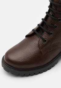 DECHASE - KEFF UNISEX - Lace-up ankle boots - brown - 5