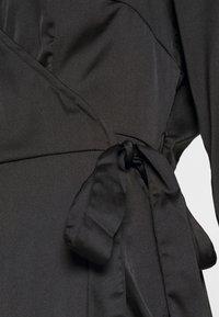 Vero Moda - VMHENNA WRAP DRESS - Cocktail dress / Party dress - black - 5