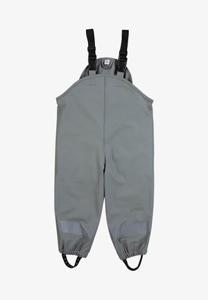 REGENTRÄGER - Rain trousers - dunkelgrau