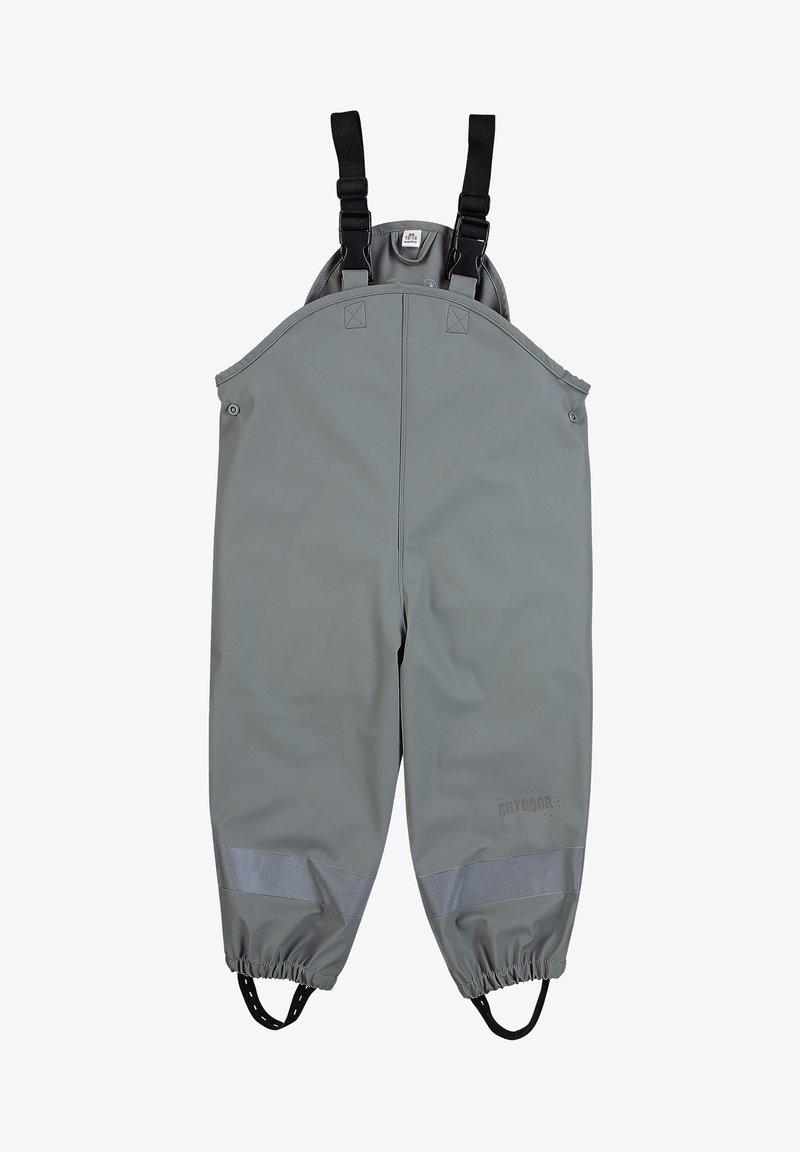 Sterntaler - REGENTRÄGER - Rain trousers - dunkelgrau