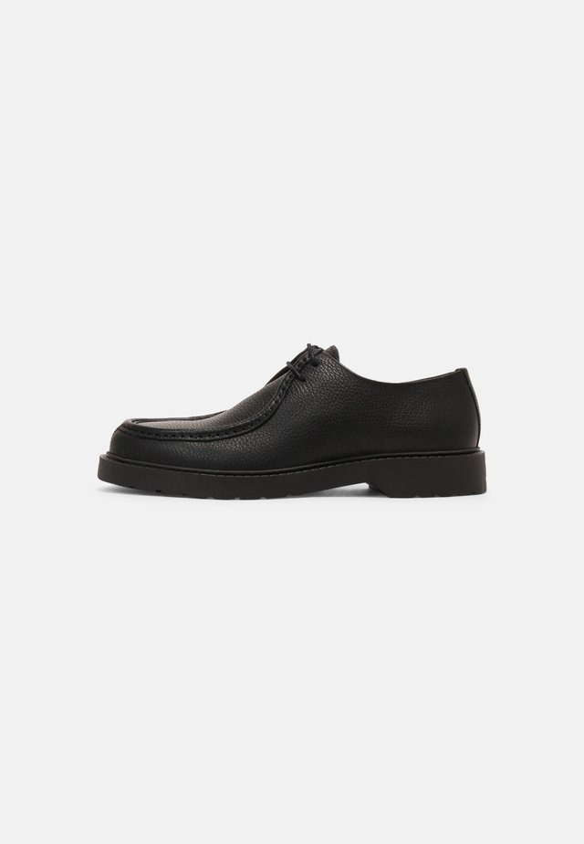 SLHTIM - Šněrovací boty - black