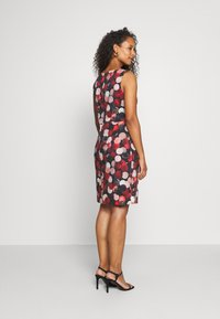 Betty & Co - Shift dress - black/red