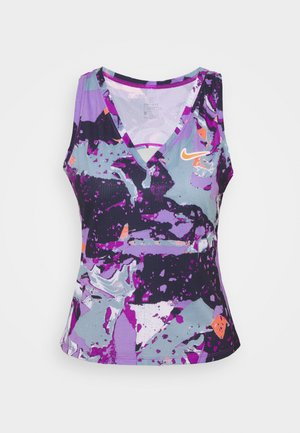 VICTORY TANK - Top - wild berry/bright mango