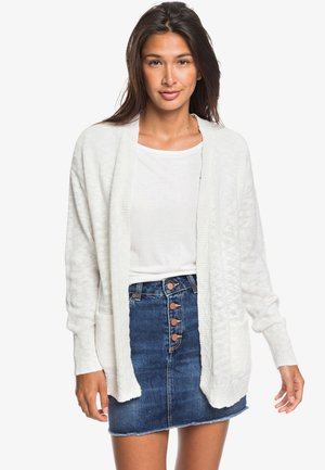 VALLEY SHADES - Cardigan - snow white