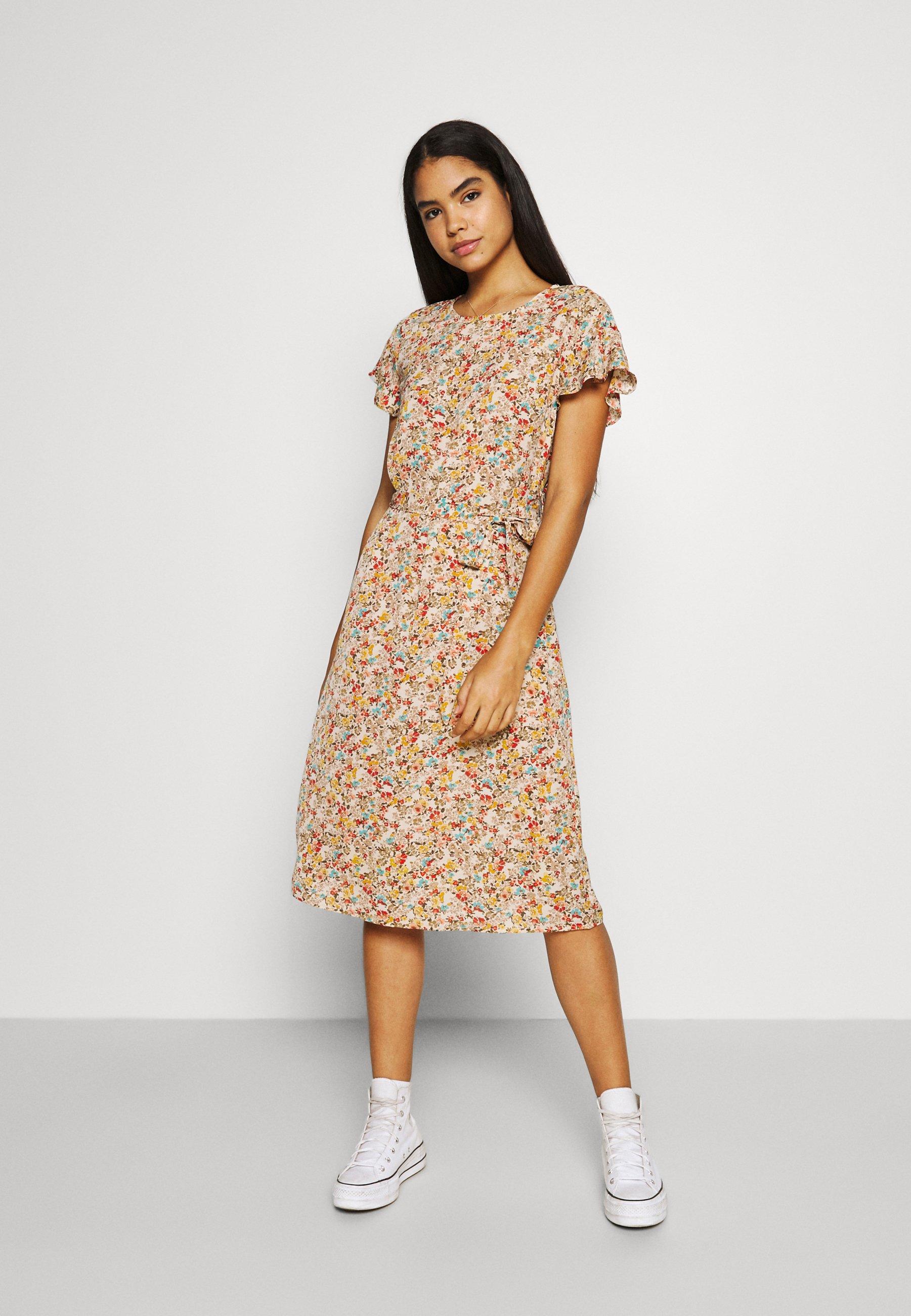 Women VIFLUMA MEDI DRESS - Day dress