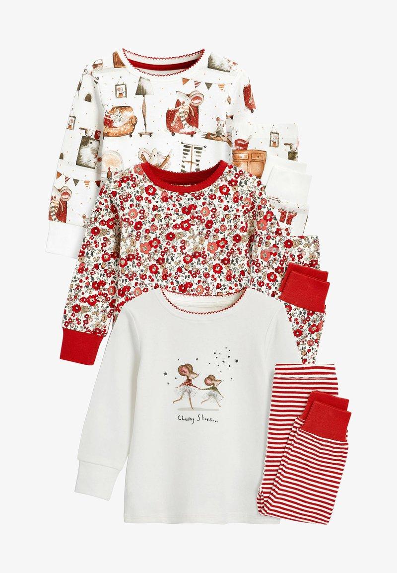 Next - 3 PACK  - Pyjamas - red