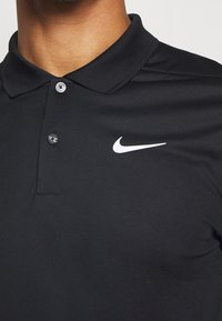 Nike Performance - DRY VICTORY SOLID SLIM - Funktionströja - black/white - 5