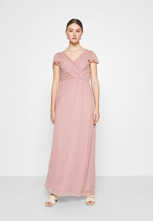 FLOWY SLEEVE GOWN - Occasion wear - dark rose