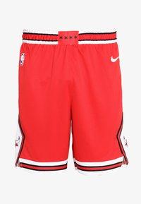 Nike Performance - CHICAGO BULLS NBA SWINGMAN SHORT ROAD - Short de sport - university red/white - 5