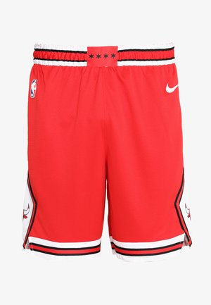 CHICAGO BULLS NBA SWINGMAN SHORT ROAD - Krótkie spodenki sportowe - university red/white