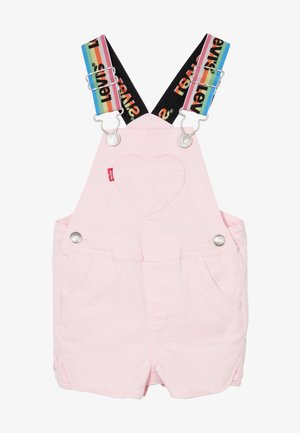 DENIM SHORTALL - Ogrodniczki - rose shadow