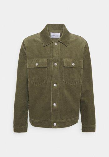Summer jacket - deep lichen green