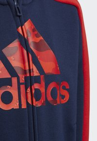 adidas Performance - GRAPHIC HOODIE SET - Tracksuit - blue - 3
