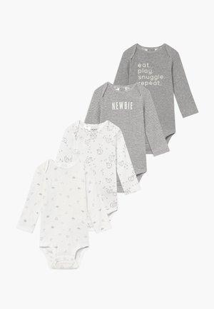 BABY 4 PACK - Body - gray