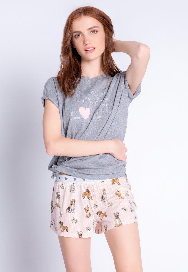 Nattøj bukser - soft rose