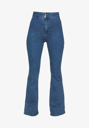 ZED JONI - Flared Jeans - blue denim