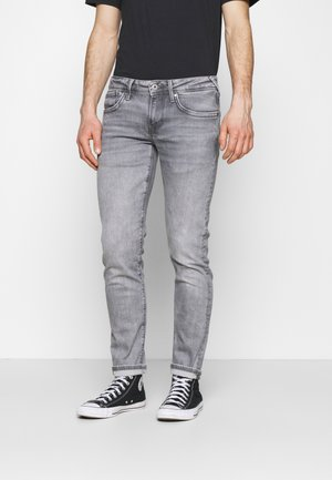 HATCH - Jeansy Slim Fit - grey denim