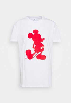 CLASSIC TEE - Print T-shirt - mickey red/white