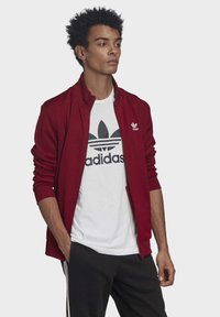 adidas Originals - TREFOIL ESSENTIALS TRACK TOP - Trainingsjacke - burgundy - 2