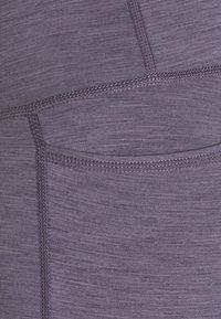 Sweaty Betty - SUPER SCULPT 7/8 YOGA LEGGINGS - Leggings - fig purple - 5