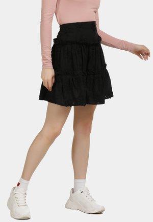 ROCK - A-line skirt - schwarz
