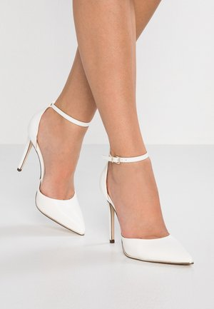 ICONIS - Højhælede pumps - white