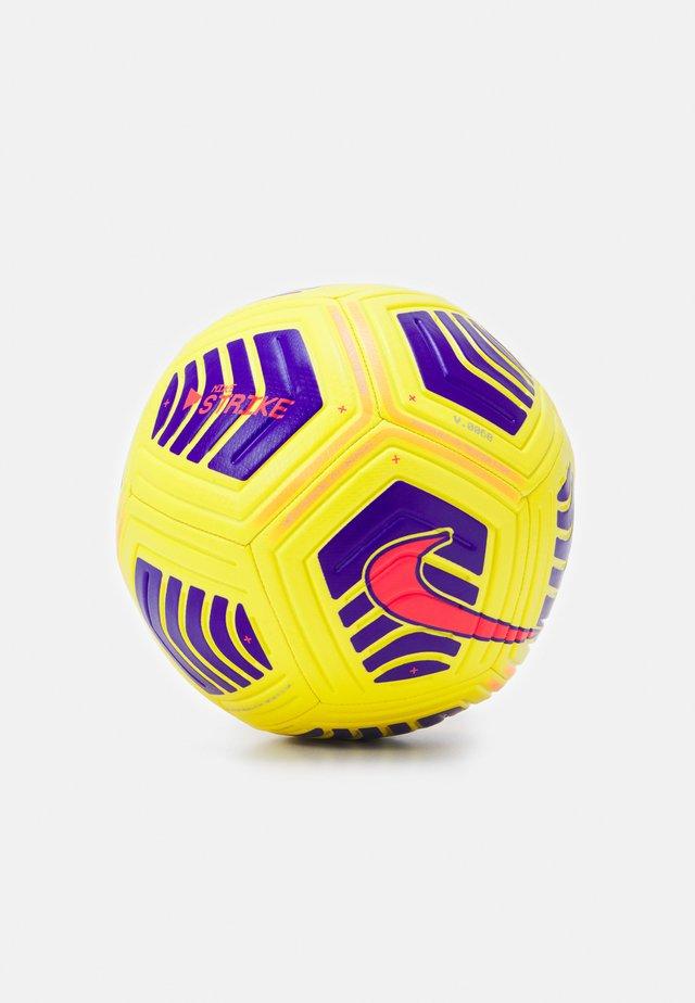 UNISEX - Piłka do piłki nożnej - yellow/violet/violet/bright crimson