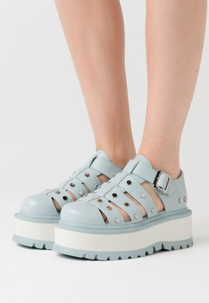 VEGAN RELAY - Nazouvací boty - light blue