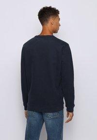 BOSS - WEEVO - Sweatshirt - dark blue - 2