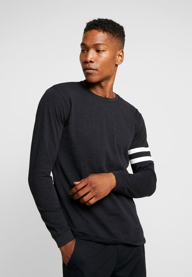 GRAIN - Maglietta a manica lunga - black
