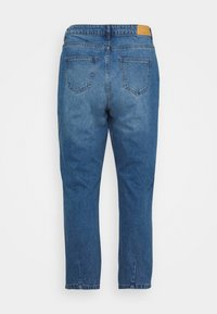 Noisy May Curve - NMISABEL MOM - Relaxed fit jeans - medium blue denim - 7