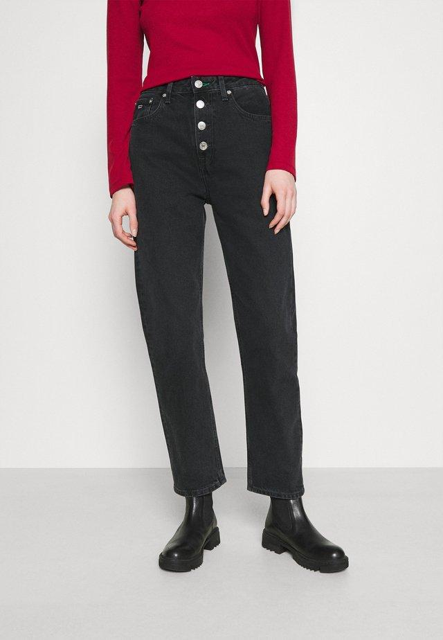 HARPER ANKLE - Jeans a sigaretta - black