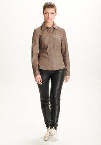 BTFCPH - STEPHANIE - Button-down blouse - stone - 1