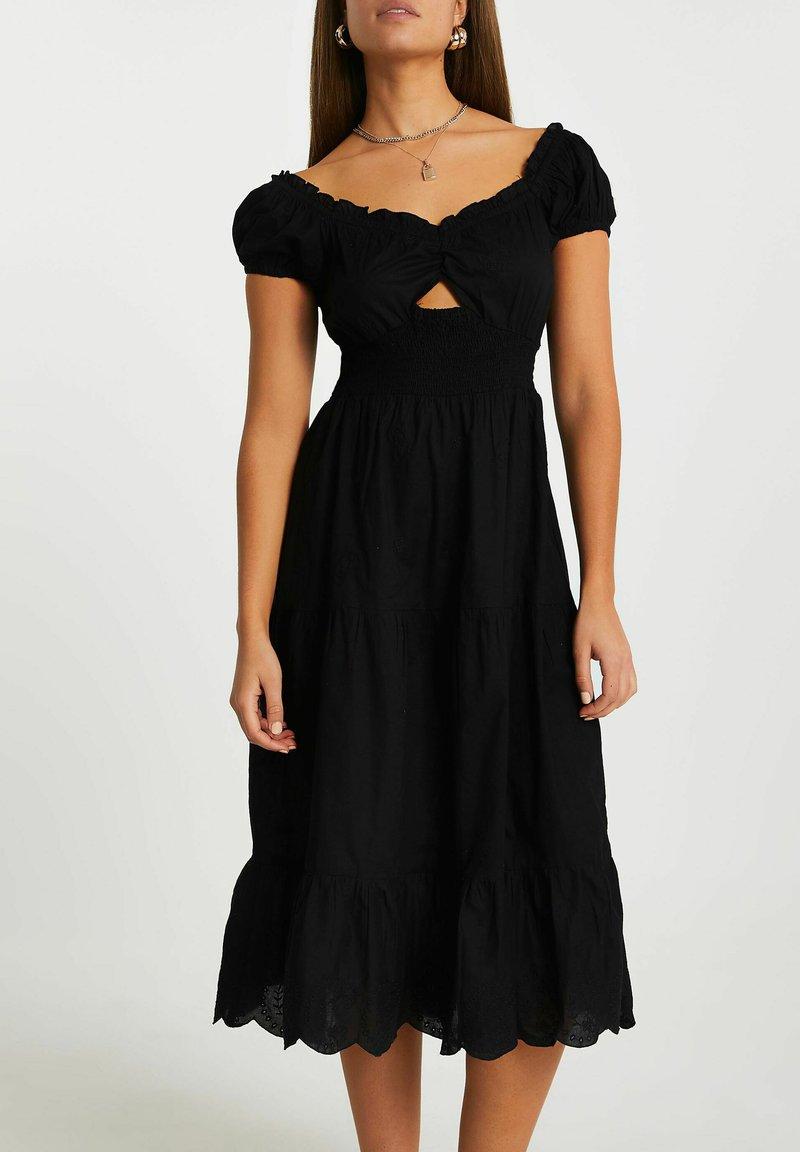 River Island - Day dress - black