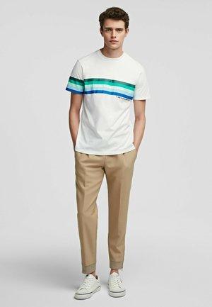 Pantalon classique - hummus