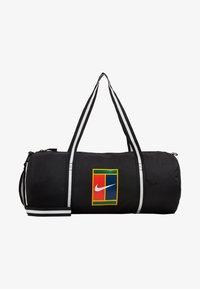 Nike Performance - COURT - Sports bag - black/white - 5