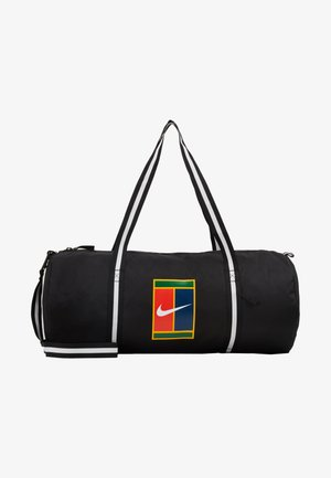 COURT - Sports bag - black/white