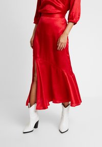 Soaked in Luxury - JYTTE SKIRT - Maksihame - barbados cherry - 0